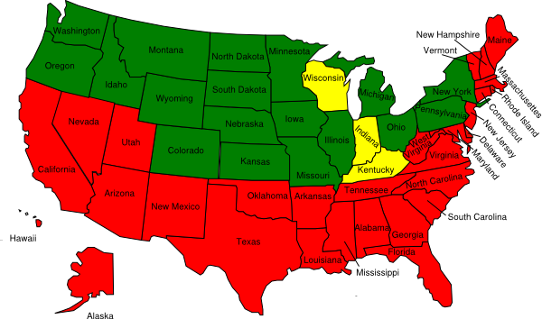 clip art map united states - photo #21