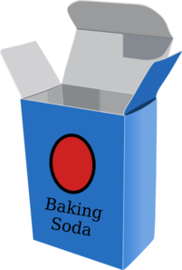 Baking Soda Box Clip Art