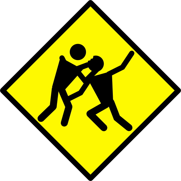 Warning Road Sign Zombie Warning Road Si...