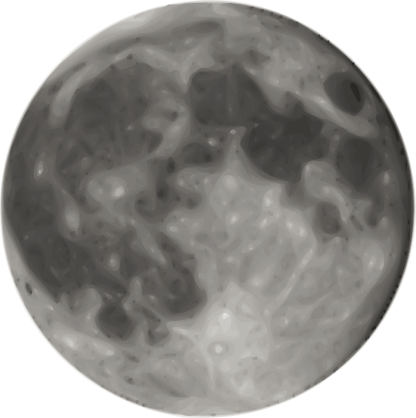 Full Moon Clip Art at Clker.com - vector clip art online, royalty free ...