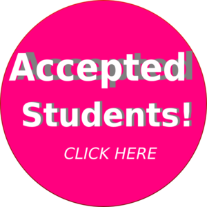 Accepted Student Clip Art