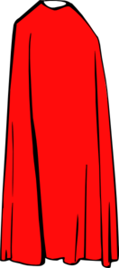 Red Cape Clip Art