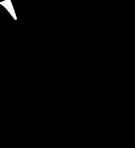 Flag Outline Clip Art