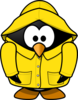 Club Penguin Rain Coat Clip Art