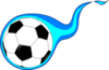 Football Flame Clip Art