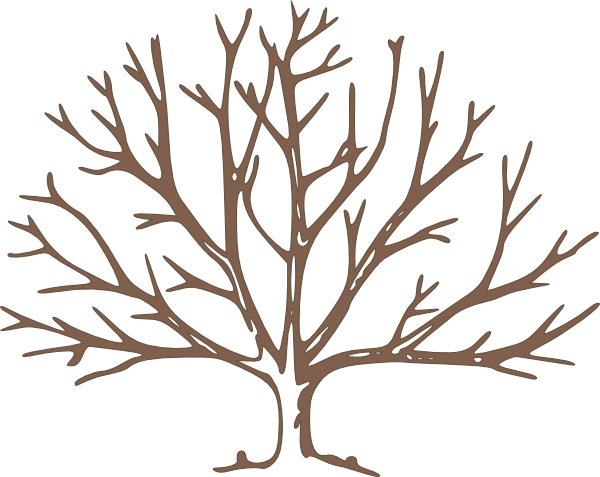 Brown Bare Tree Clip Art at Clker.com - vector clip art ...