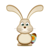 Easter Bunny Egg Icon Image