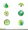 Green Environmental Clipart Image