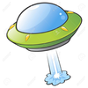 Flying Saucer Free Clipart Image