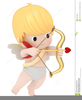 Cupid With Bow And Arrow Clipart Image