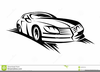 Moving Car Clipart Image