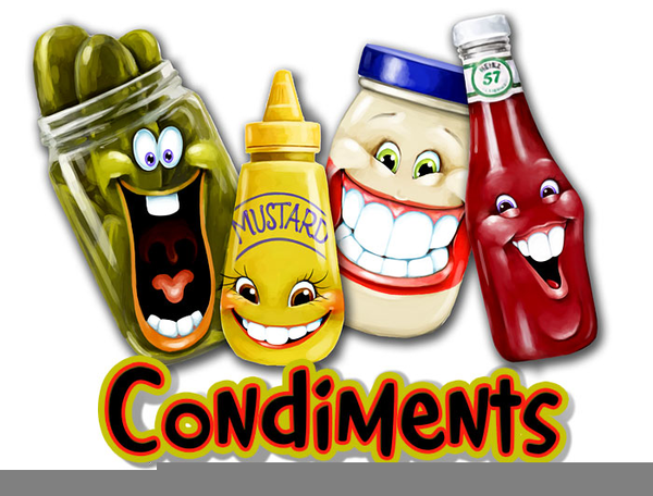Condiments Clipart | Free Images at Clker.com - vector ...