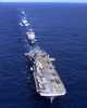 Uss Essex Battle Group - Formation Steaming Image