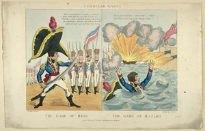 Consular Games - The Game Of Brag - The Game Of Hazard  / Woodward Del. ; Etch D By Roberts. Image