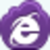 Free Violet Cloud Internet Explorer Image