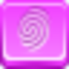 Free Pink Button Finger Print Image