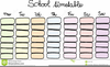 Free Classroom Schedule Clipart Image