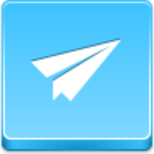 Paper Airplane Icon Image