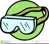 Safety Goggles Clipart Image