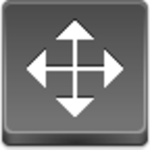 Free Grey Button Icons Cursor Drag Arrow Image