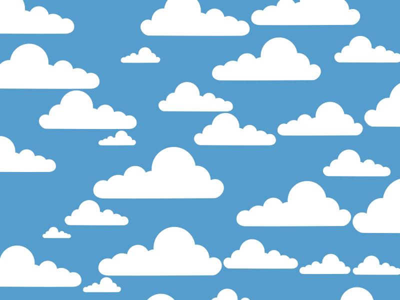 cloud clipart background - photo #4