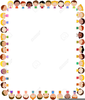 Candy Corn Frame Clipart Image