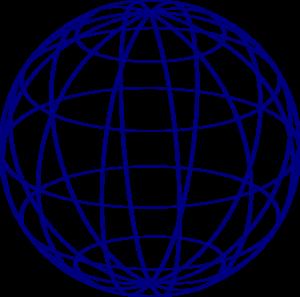 Blue Sphere Clip Art at Clker.com - vector clip art online ...
