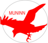 Muninn Red Matt P Clip Art