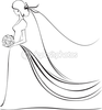 Bride Cartoon Image