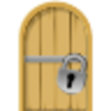 Locked Cell Door Icon Image