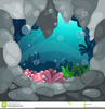 Under The Sea Background Clipart Image