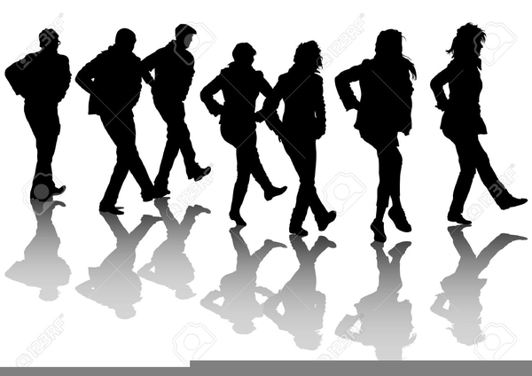 Country Line Dancing Clipart Free Images At Clker Com