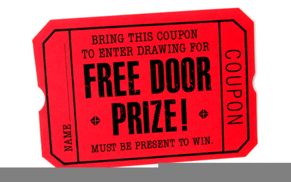Free clip art for door prizes