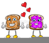 Peanut Butter And Jelly Sandwich Clipart Image