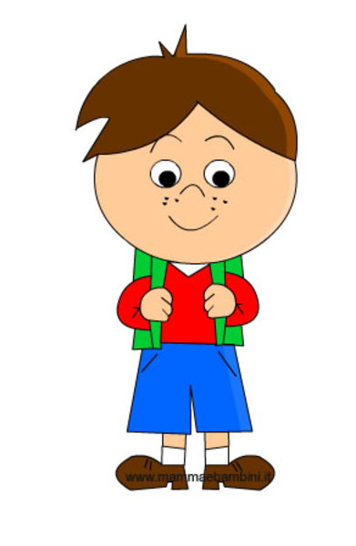 Bambino free images at vector clip art for Scuola clipart