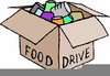 Canned Goods Clipart Image