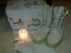 Combat Boots Candle Image