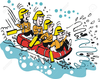 Rubber Raft Clipart Image