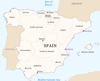 Spain Region Map Image