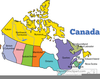 Free Clipart Map Of Canada Image