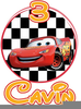 Free Disney Cars Clipart Image