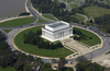 Aerial View Of The Lincoln Memorial Image