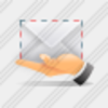 Icon Hand Email Image
