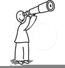 Free Spyglass Clipart Image