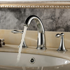 Widespread Classic Brass Bathroom Faucet--faucetsuperdeal.com Image