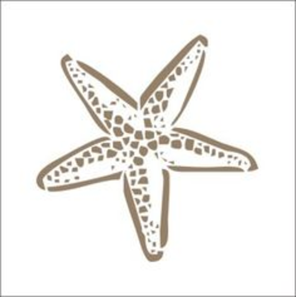 starfish stencil free images at vector clip art online royalty free public domain. Black Bedroom Furniture Sets. Home Design Ideas