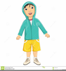 People Wearing Coats Clipart Image