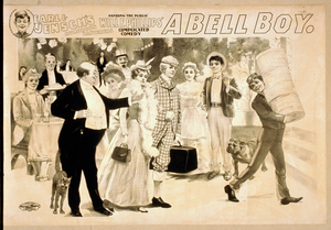 Earl & Jensch S Humorous Banterers Handing The Public, Will F. Phillips  Complicated Comedy, A Bell Boy Image
