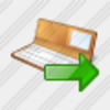 Icon Check Book Export Image
