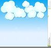 Free Clipart Blue Sky Clouds Image